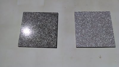 Granite Before and After blast